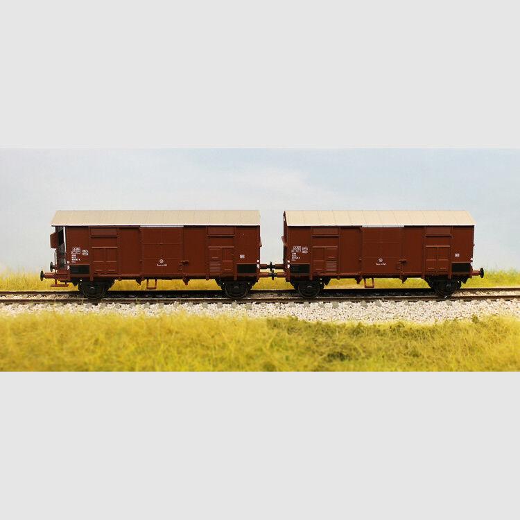 Set di 2 carri Ghms con cassa metallica - Art. Acme 45035