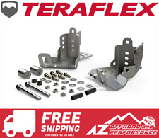 TeraFlex 36-07-01-300 Falcon JK//JKU HD Rear Shock Skid Plate Kit