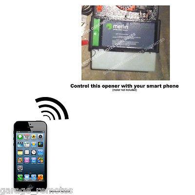 Iphone Remote Control Your Merlin Prolift 430r Garage Door