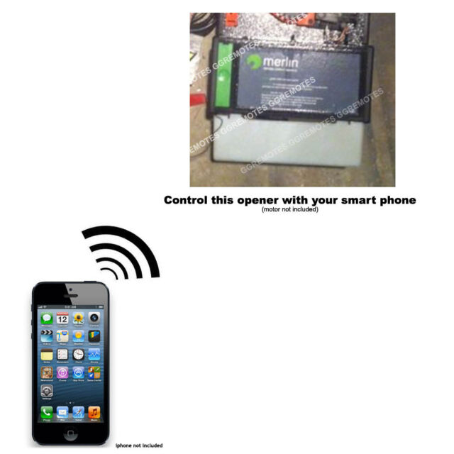 Iphone Remote Control Your Merlin Prolift P430r Garage Door Opener