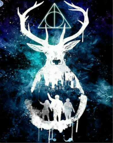5D Full Diamonds Painting DIY Harry Potter Poster Art Decor Kits Gift //XT-350