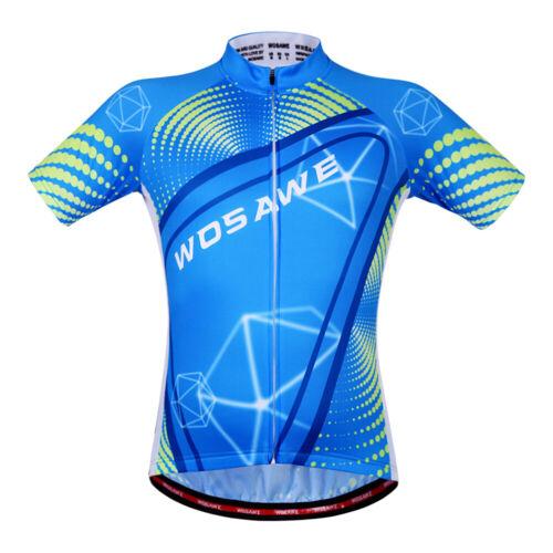 Herren Team Radtrikot Bike MTB Kurzarm Shirt Radsportbekleidung Sport Tops