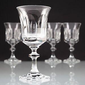 4 weingl ser villeroy boch v b kristall gl ser ambassador crystal w6c ebay. Black Bedroom Furniture Sets. Home Design Ideas