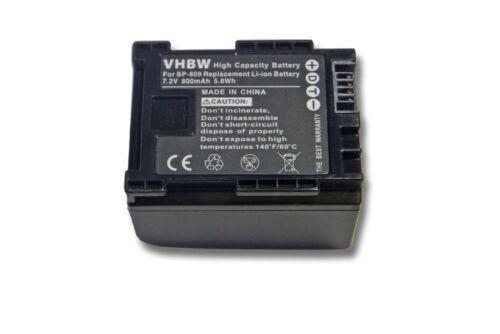 para canon LEGRIA hf200 hf-200 21 Batería premium con chip