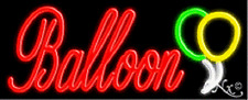 Brand New Balloon 32x13 Withlogo Real Neon Sign Withcustom Options 10501