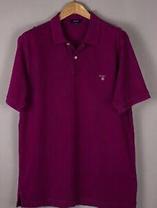 GANT Herren Freizeit Polohemd Hemd T-Shirt Größe XL BCZ804