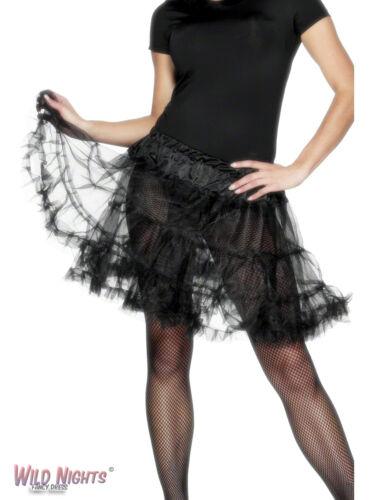 FANCY DRESS ACCESORY # LADIES LAYERED TUTU BLACK