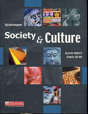 Society & Culture by Bernie Howitt Robin Julian | Heinemann | FREE Postage