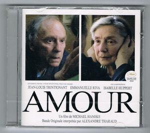AMOUR - MICHAELHANEKE - ALEXANDRE THARAUD - CD 9 TITRES - 2012 - NEUF NEW NEU