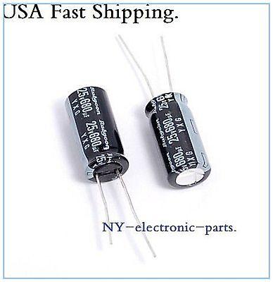 10x 680UF 25V RUBYCON RADIAL ELECTROLYTIC CAPACITORS.10X20MM.YXG 25v680uf