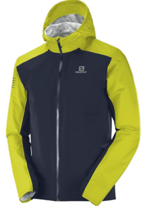 Salomon Men/'s Bonatti WP Running Jacket Night Sky