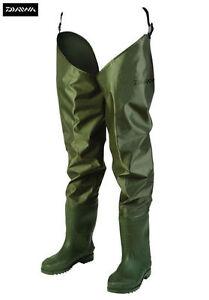 Daiwa-Lightweight-Nylon-Hip-Fishing-Waders-All-Sizes-6-12-DNHW