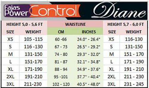 Diane/&Geordi 3617 Bodysuit Girlde For Women Faja Colombiana Moldeadora Reductora