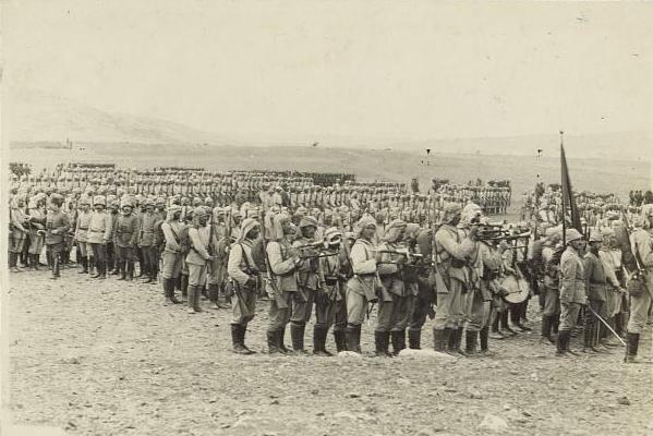 "Liman Pasha /& Staff Ottoman Turkish Army World War 1 7x4/"" Photo Reprint 1"