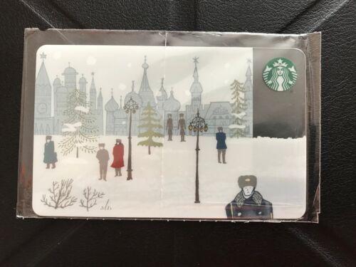 starbucks Russia card NEW 0158