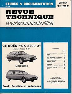 Adroit Revue Technique Automobile Citroen Cx 2200 D - Rta Nous Prenons Les Clients Comme Nos Dieux