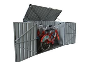 Bike-Shed-2x0-9x1-3m-Bin-Shed-Garden-Shed-Bike-Storage-w-Floor-Support
