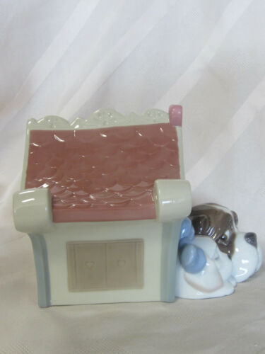 NEW NAO BY LLADRO SWEET HOME BRAND NEW IN BOX #1748 PUPPY LOVE DOG HOUSE F//SH