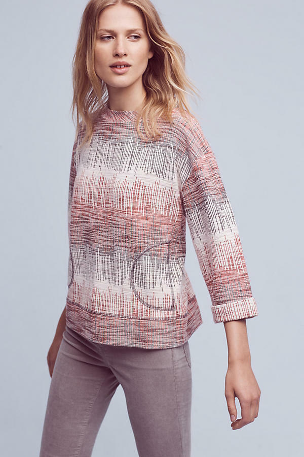NWT Anthropologie Etched Sunset Sweatshirt sz S