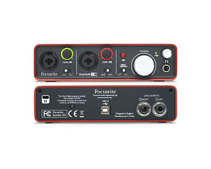 Focusrite-Scarlett-2i2-2-in-2-out-USB-recording-Audio-interface
