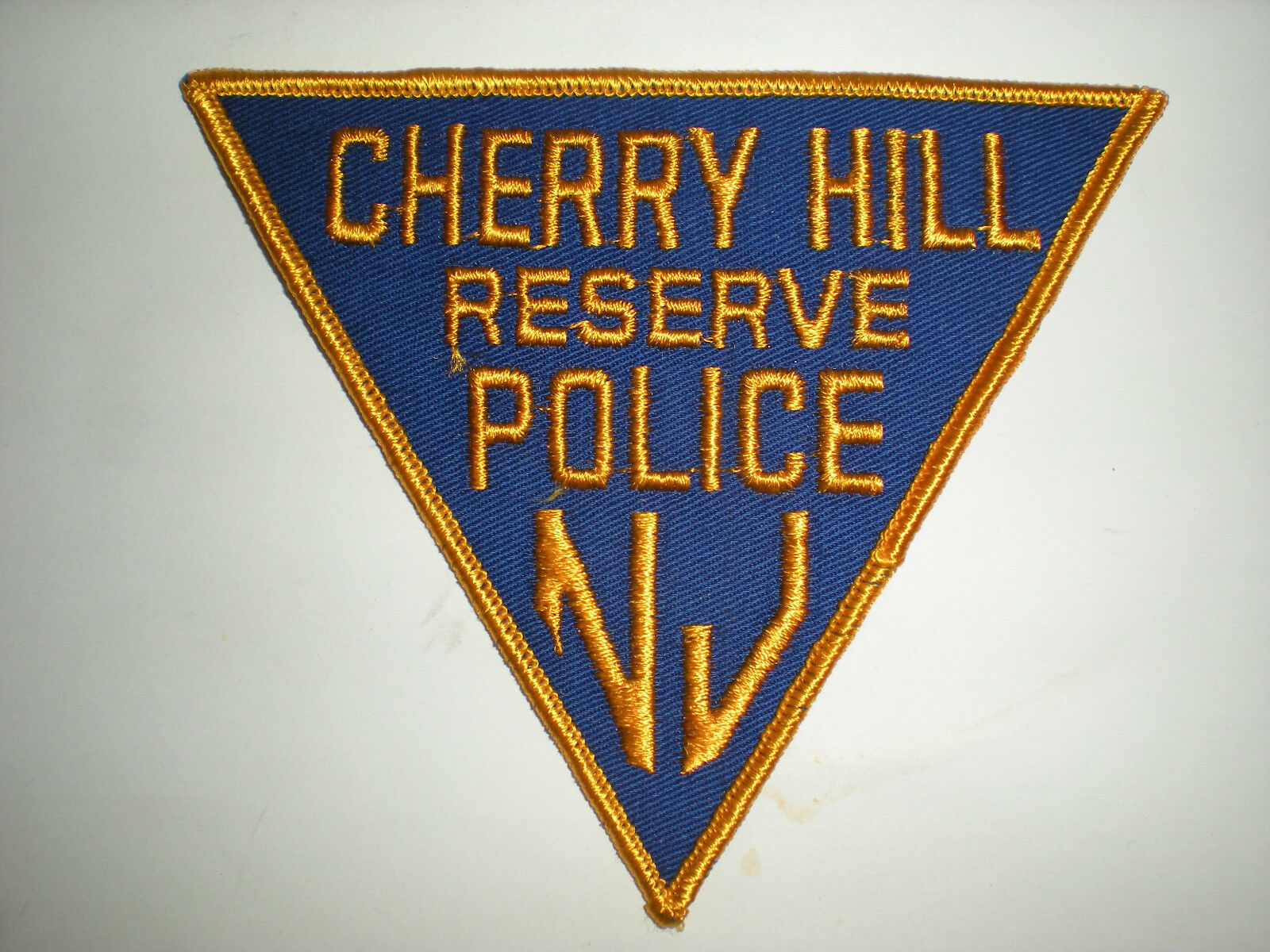 NEW JERSEY POLICE DEPARTMENT RESERVE PATCH CHERRY HILL