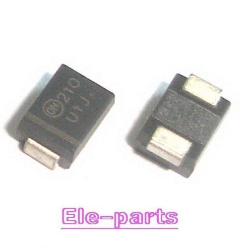 100 PCS MURS160T3G DO-214AA MURS160T3 MURS160 SMT Ultrafast Power Rectifiers