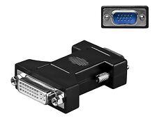 VGA DVI Adapter 24+5 DVI-I Buchse an VGA Stecker DSUB 15 Polig