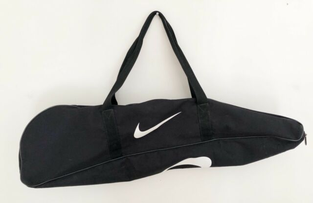 Nike Baseball Softball Bat Gear Equipment Bag Black With White Logos 36 L