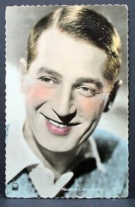 Maurice-Chevalier-Movie-Card-Film-Autograph-Card-Ak-Lot-I-5841