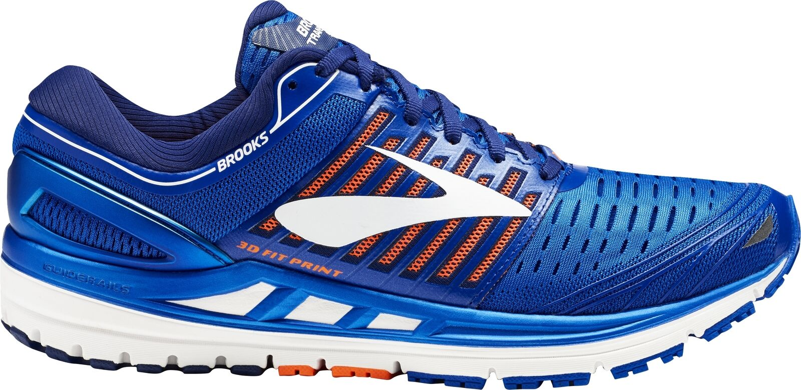 Brooks Transcend  5 Mens Running shoes-bluee  for cheap