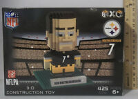 Ben Roethlisberger 7 Brxlz Player 3d Toy Puzzle 425 Pcs Pittsburgh Steelers Nfl