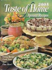 Taste of Home Annual Recipes 2005 by Jean Steiner (2004, Hardcover)