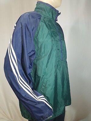 adidas Classic Blue & Green Windbreaker Jacket