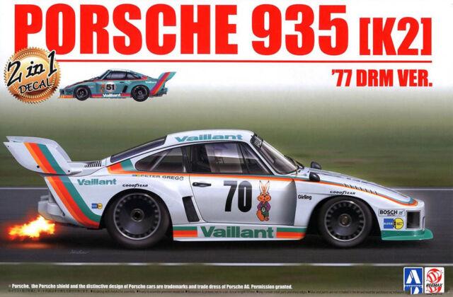 Porsche 935 K2 1977 Drm Vers. Lacs 1:24 Modèle Kit Kit Beemax Aoshima 105108