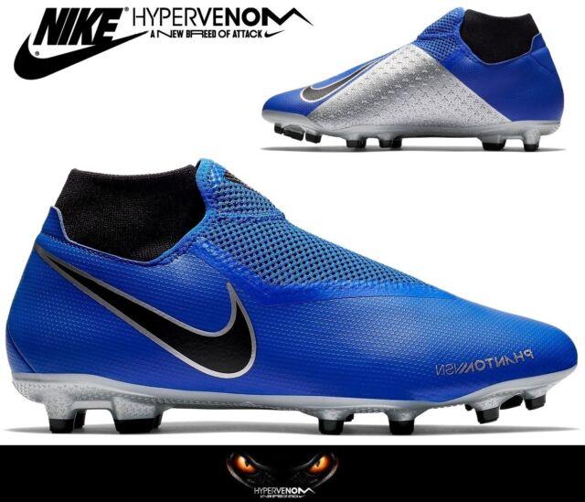 Nike Hypervenom Phantom Academy DF FG MG Fußballschuhe Gr.46 Blau Neu NP:100€