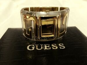Guess-Steel-Gold-Watch