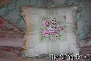 Rachel Ashwell Shabby Chic Pillow Cases : Simply Shabby Chic Bramble Ruffled Decorative Toss Pillow Rachel Ashwell B7 eBay