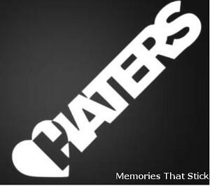 2X-LOVE-HATERS-Funny-Car-Window-Bumper-JDM-VW-EURO-Vinyl-Decal-Sticker