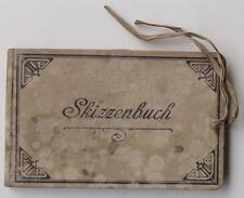 Arpad Schmidhammer Skizzenbuch Teisendorf Wirtshaus Schaidinger Wieninger 1912