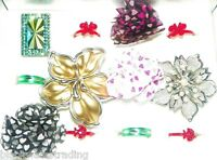Wholesale Lot 12 Pc Assorted Fashion Costume Jewelry Cocktail Rings 1 Dozen D
