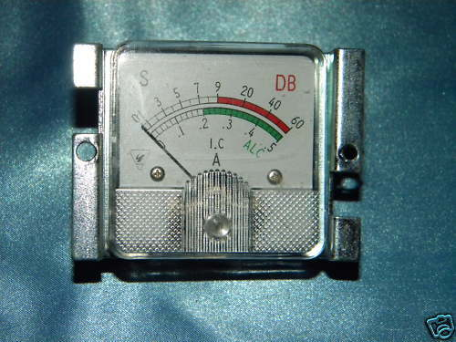 YAESU FT-101 SERIES  FRONT VFO DIAL COMPLETE W//BUSHINGS