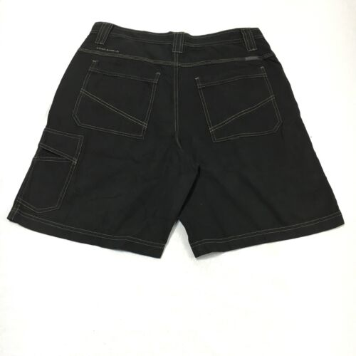 Columbia Sportswear Omni Shade Mens 34 Black 100/% Cotton Zip Pocket Cargo Shorts