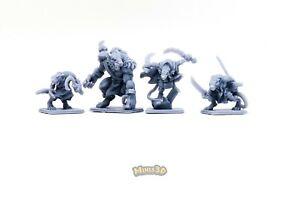 Skaven - Heroquest D&D Gloomhaven - Minis3D