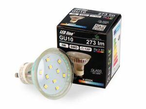 LED-Line-10x-GU10-3W-LED-Leuchtmittel-Neutralweiss-4000K-273-Lumen-Einbauleuchte
