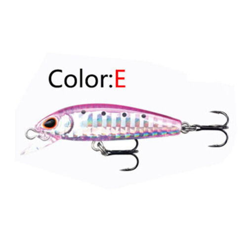 5cm Tackle Useful Crankbaits Fish Hooks Fishing Minnow Baits Lures