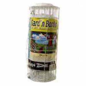 Jackson Wire 14X25 White Flower Fence 13015331
