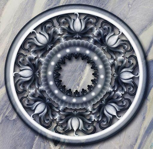 3D Dark Flowery Designs Floor WallPaper Murals Wall Print Decal 5D AJ WALLPAPER