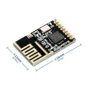 2Mbps Wireless Transceiver 2.4GHz Antenna Module For Microcontroll NRF24L01