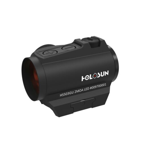 Holosun Red dot Sight with Exchangable Foresee HS503G-U-BLACK Scope