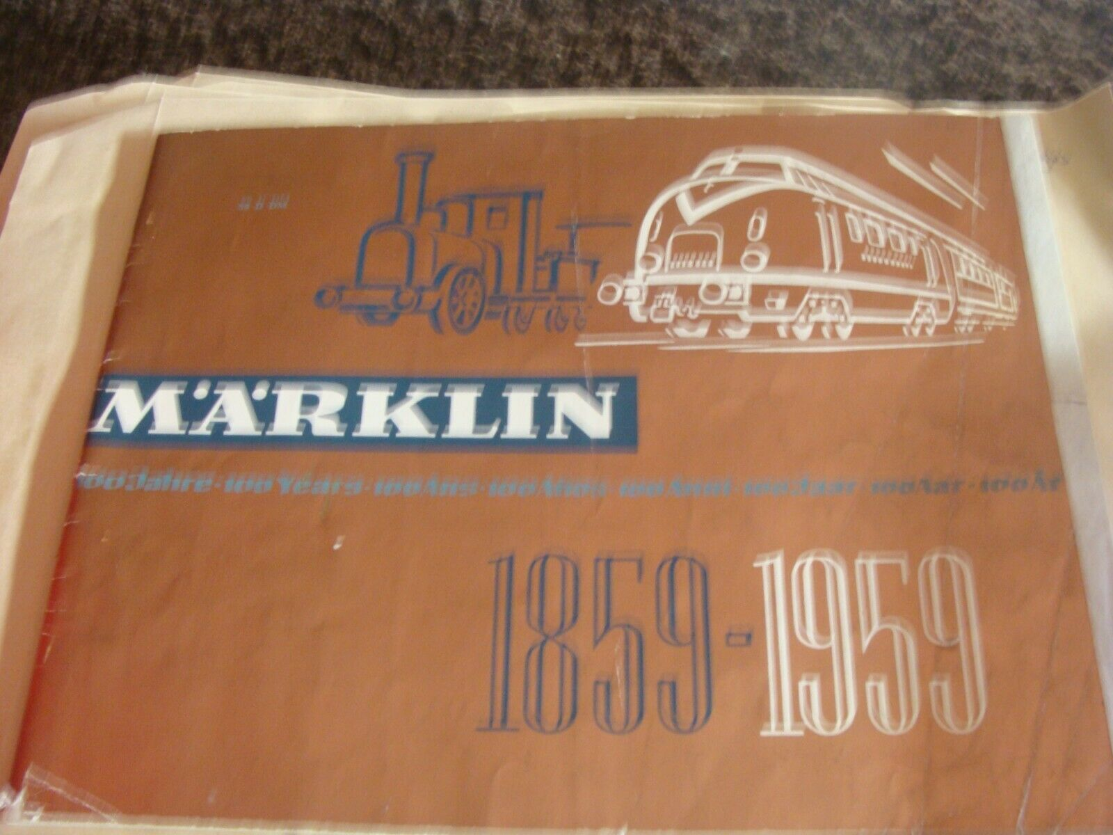 marklin Catalogue 59 G O.P. 1959  Geruomo  Coloree  Original with prices